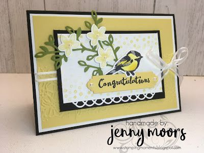 Stamping Moments: Petal Palette Stampin' Up!