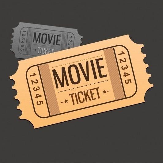 23 best ticket images on Pinterest Brand identity design, Movie - movie ticket template free