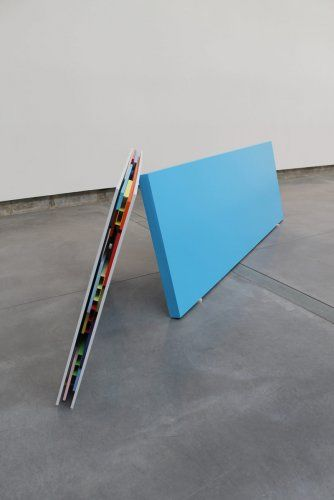 Tilman - Untitled (2012). Lacquer on mdf board. Lacquer on aluminium