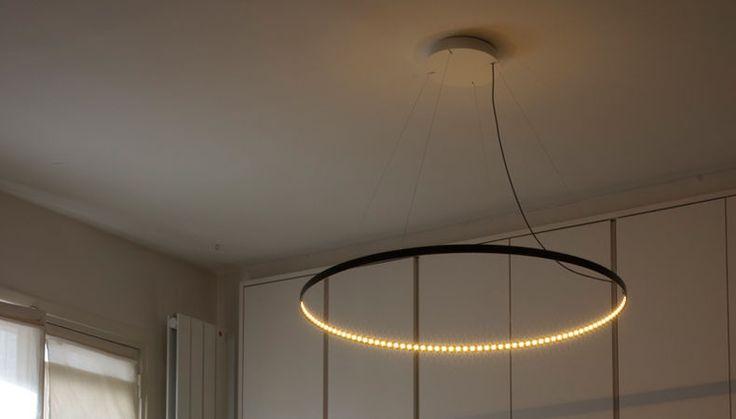 CIRCLE HANGING LAMP By LE DEUN LUMINAIRES Available At