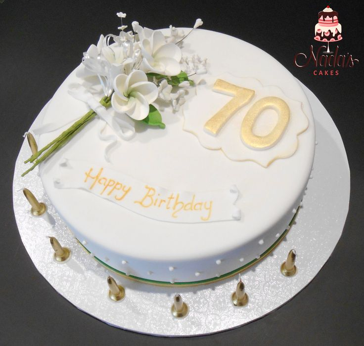 1000+ Ideas About Elegant Birthday Cakes On Pinterest