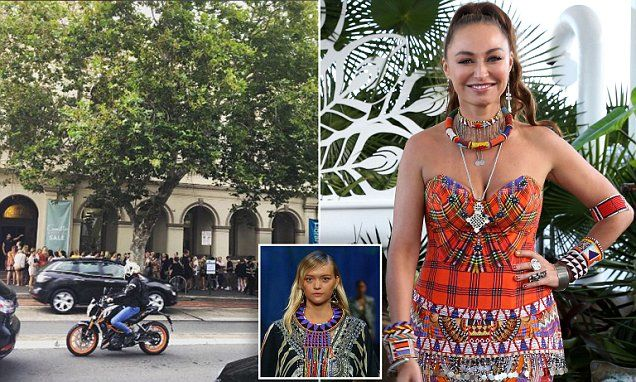 A Woman is ARRESTED for shoplifting at Camilla  sale