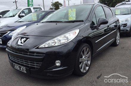 2012 Peugeot 207 Sportium Auto MY12