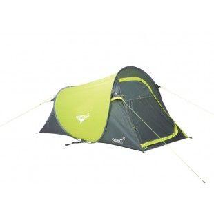 Tente deux places Gelert Quick Pitch SS Compact Vert/ Gris