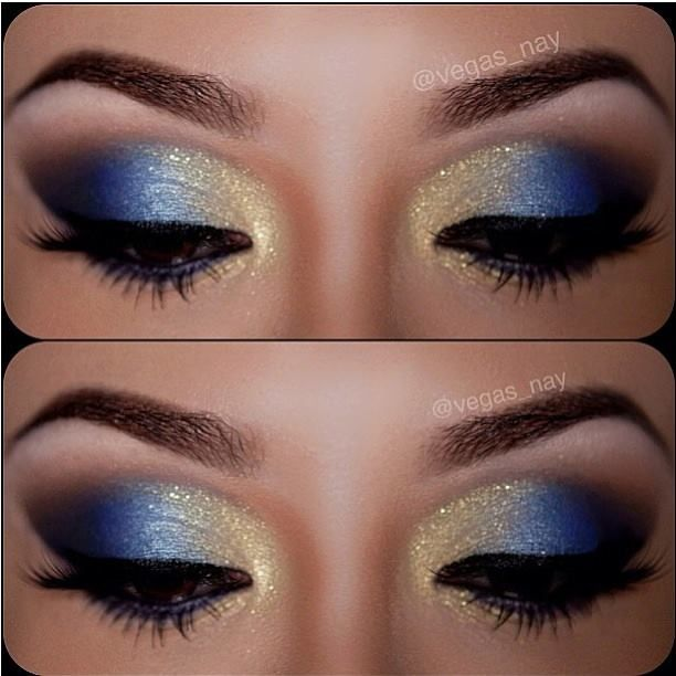 blue and gold lush