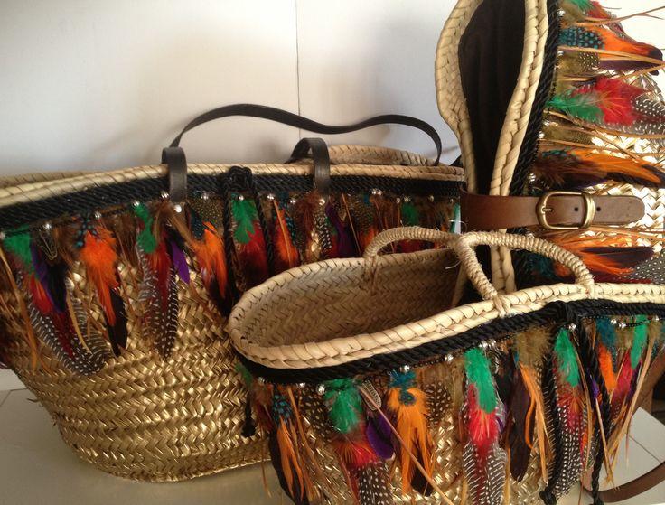 CAPAZO - plumas boho chic