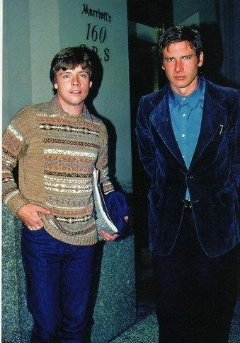 Harrison Y Mark dos jóvenes rostros del Star Wars de los años 70Hace mucho tiempo estos dos apuestos jóvenes protagonizaron una película que cambió sus vidas, uno interpretando a un contrabandista y el otro a un buen chico que quería hacer lo...