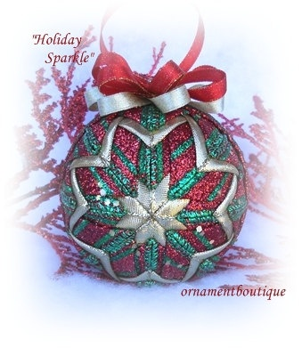 218 best Quilted Christmas Ornaments. images on Pinterest ... : quilt ornaments - Adamdwight.com