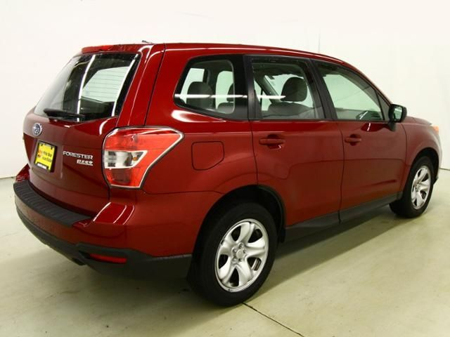 Used 2014 Subaru Forester for sale in White Bear Lake MN at White Bear Acura dealer near St. Paul, Woodbury, Highland Park. Minnesota Subaru dealership. Used Subaru for sale Minnesota. Used SUV for sale near the Twin Cities. Red Forester for sale. AWD SUV for sale.