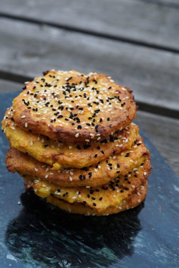 Indiske majsbrød (glutenfrie)