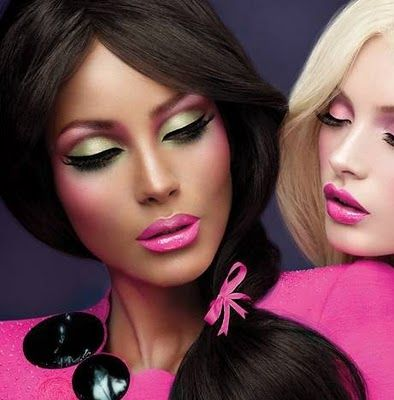 M.A.CEye Makeup, Colors, Beautiful, Makeup Ideas, Pink Lips, Mac Eye, Makeup Looks, Barbie Makeup, Mac Cosmetics