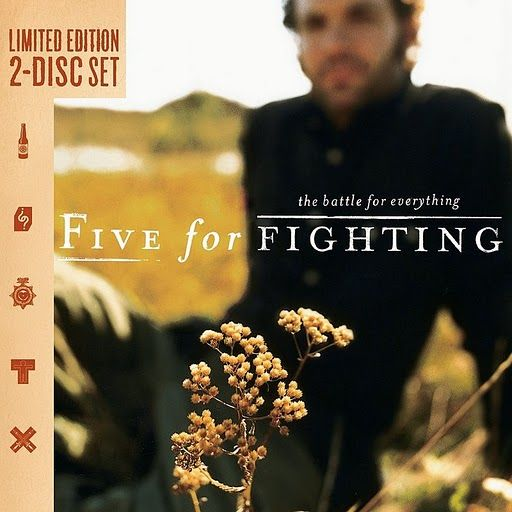 Five For Fighting - Superman (It's Not Easy) More than any song, I've ever heard, this is me, my life, my heart