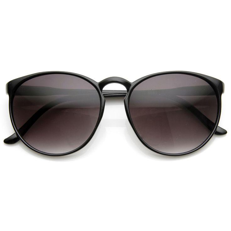 Large Retro Round Key Hole P3 Circle Sunglasses 9188   zeroUV
