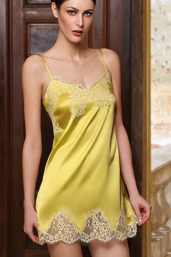 10+ images about Beautiful silk chemise! on Pinterest ...