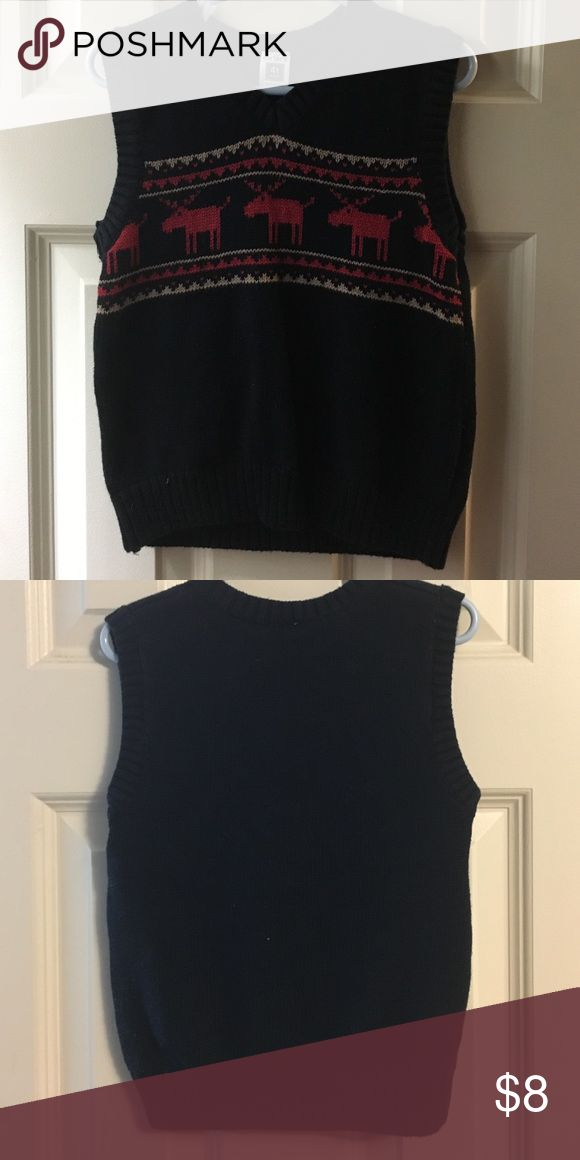 Carters - V-Neck Christmas Sweater - 4T Cute little Christmas Sweater to go over a dress shirt. 4T. Worn once. Carter's Shirts & Tops Sweaters
