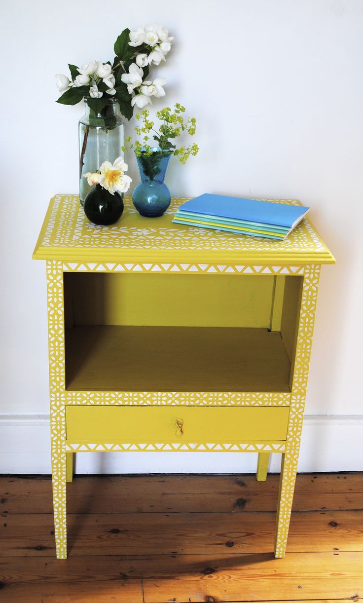 247 Best Beautiful Bright Painted Furniture Images On