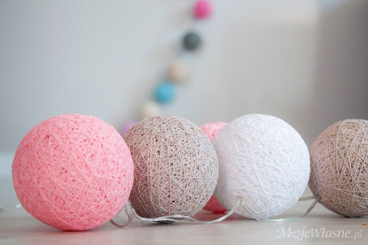 Handmade Cotton balls