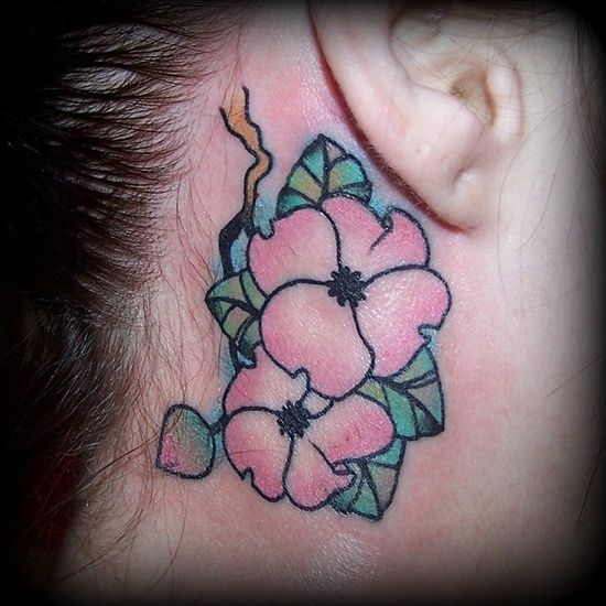 Cute Flower Tattoo Designs: 16 Best Cute Flower Tattoo Designs For Girls Images On