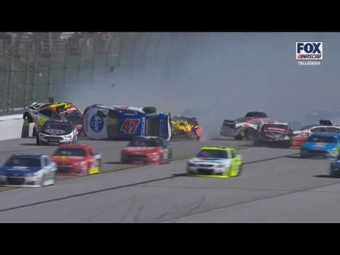 Why does Almandinger        Have to be so stupid. But still congratulations to Stenhouse Jr at least Kyle Bush didn't win after that crash all my favorates were out so I was routing for any one else but kyle.
