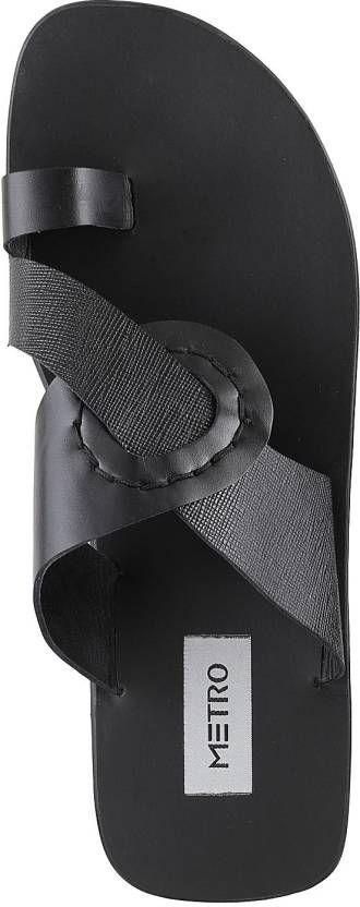Metro Men Black Sandals - Buy 11,Black Color Metro Men Black Sandals Online at Best Price - Shop Online for Footwears in India | Flipkart.com