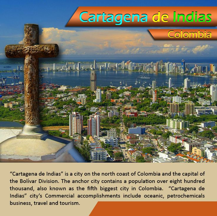 """Cartagena de Indias - Colombia : """"Cartagena de Indias"""" is a #city on the #north coast of Colombia and the #capital of the #Bolívar Division. The #anchor city contains a #population over eight hundred thousand, also known as the fifth biggest city in Colombia.       #cartagenadeindias #esperanzatravel #flightstocolombia #flightstosouthamerica        low #cost #flights to #colombia : http://www.esperanzatravel.co.uk/cheap-flights-to-colombia.php"""