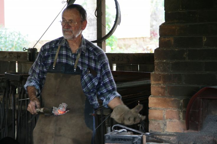 Blacksmith at Caboolture Historical Village