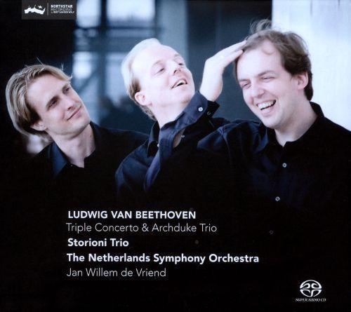 Beethoven: Triple Concerto; Archduke Trio [Super Audio Hybrid CD]