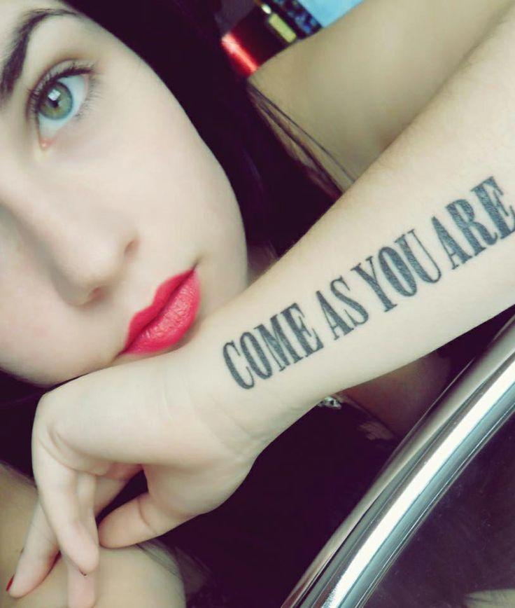 Nirvana tattoo tt d s pinterest nirvana for Where do tattoos come from