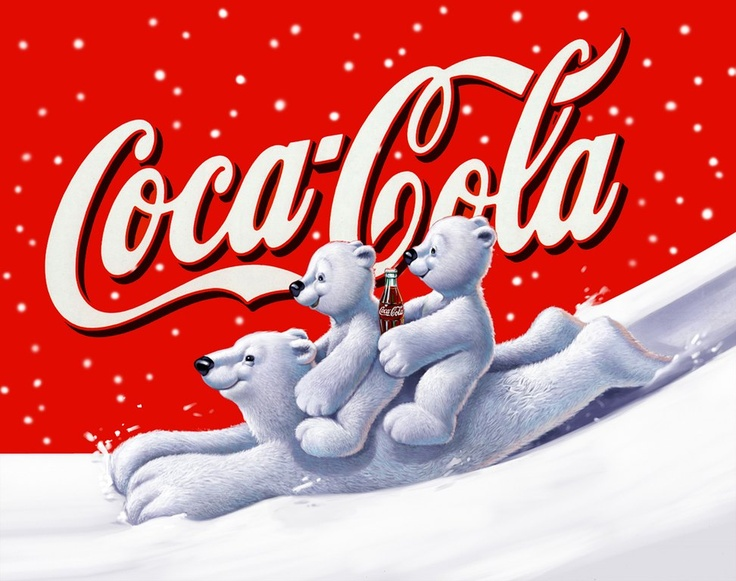 Illustrator Stefano Riboli 2004 - Orsi Coca Cola Winter Coca Cola advertising Campaign having the Bears as the main subject.The same subjects were been used on the packaging. Published on: Italy