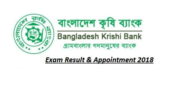 Bangladesh Krishi Bank Bkb Exam Result Exam Results Exam Job Circular