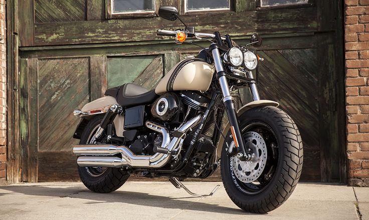2014 Harley-Davidson® Dyna® Fat Bob®Motorcycles Photos & Videos