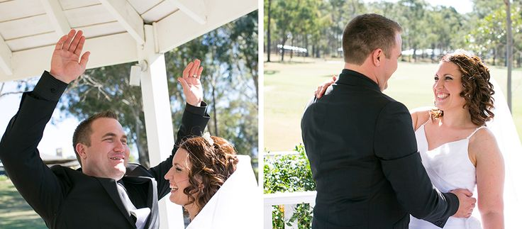 A windy wedding afternoon at Chateau Elan, Hunter Valley. www.somethingbluephotography.com.au
