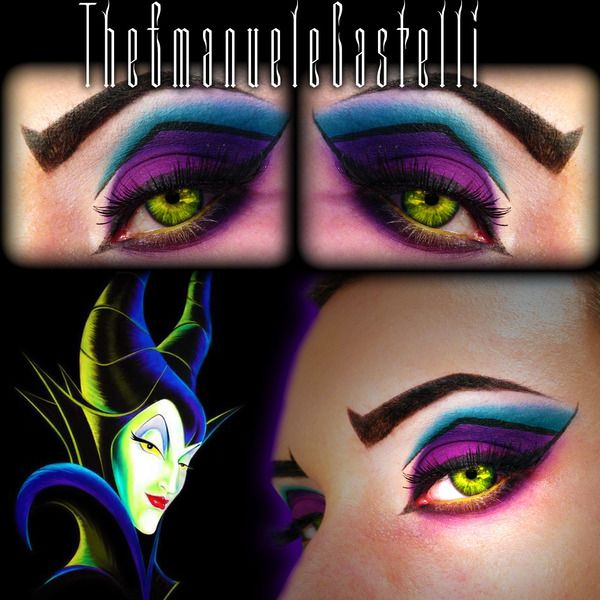 Disney's Villain - Maleficent Make Up
