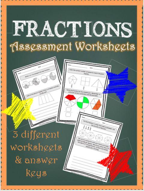 Fraction assessment, naming fractions, identifying fractions, what is a fractions, problem solving.