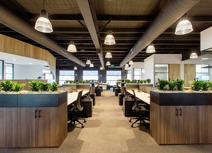 Cameron Industrial Offices Melbourne Startup OfficeOffice DesksOffice SpacesInterior Design