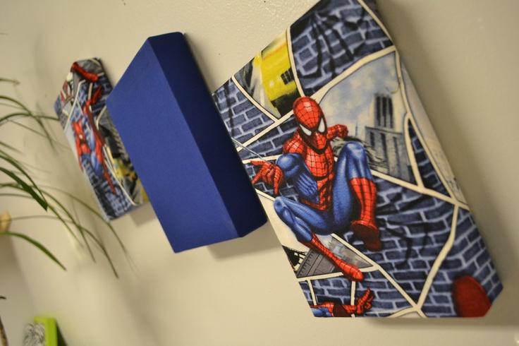 Spiderman Decoration Fabric Wall Hanging