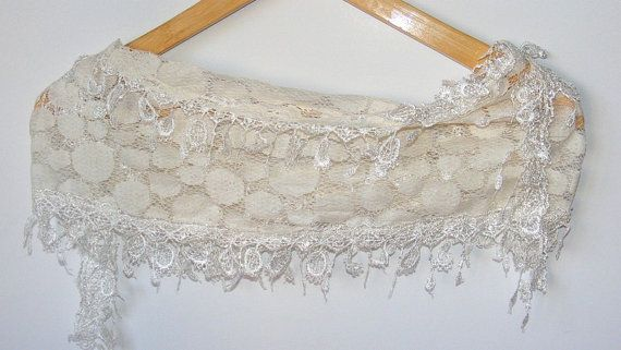 fashion scarves women new scarf trends ivory scarf by scarvesCHIC, $15.90