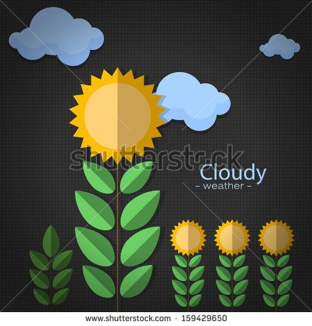 sunflower on back background http://www.shutterstock.com/pic-159429650/stock-vector-icon-weather-on-back-background.html?src=kf6DuYeydaJbeAU9sja52A-1-44
