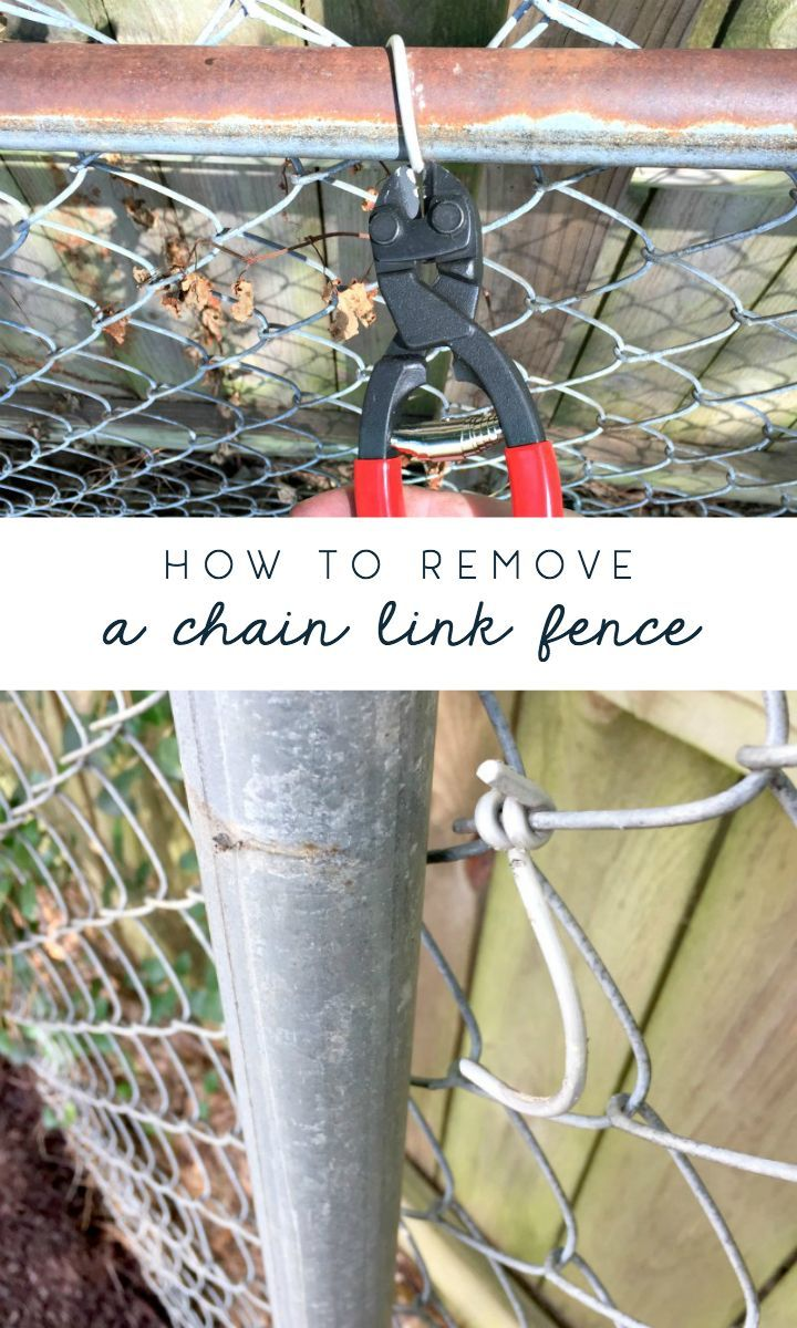 Removing The Chain Link Fence And Trying To Be A Good Neighbor