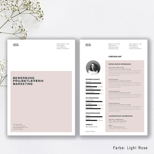 Bewerbungsvorlage Jetzt Finden Kreativ Bewerbung Com In 2020 Vorlage Bewerbung Kreative Bewerbung Deckblatt Bewerbung