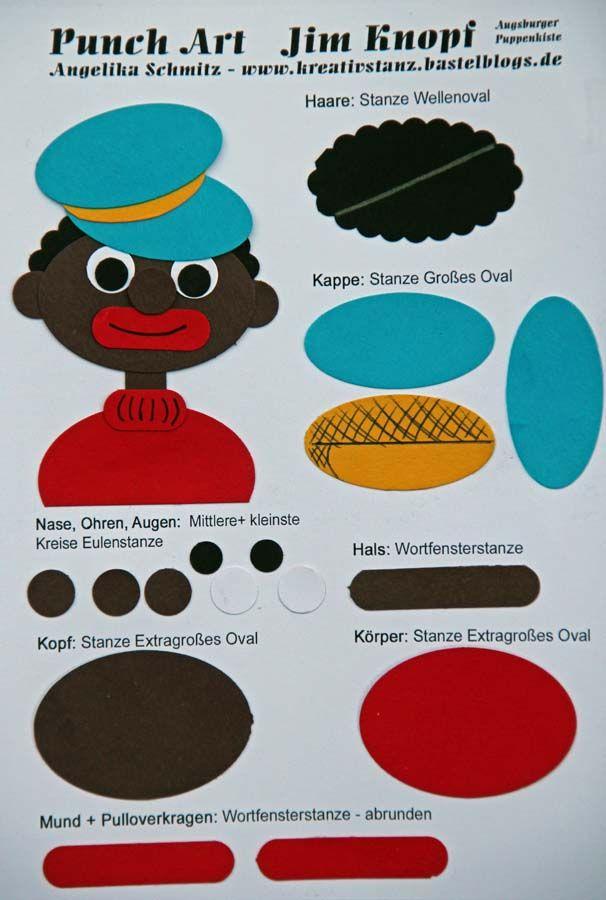 Jim Knopf Punch Art KreativStanz Stampin'Up! http://kreativstanz.bastelblogs.de