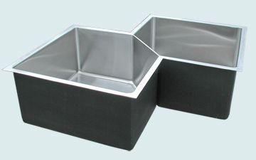 Custom Stainless Steel Kitchen Sinks # 5247
