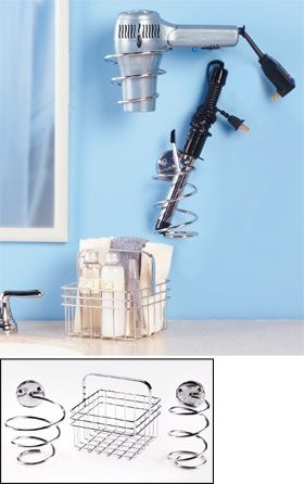 Love the holders for blow dryer and straightener! - MyHomeLookBook