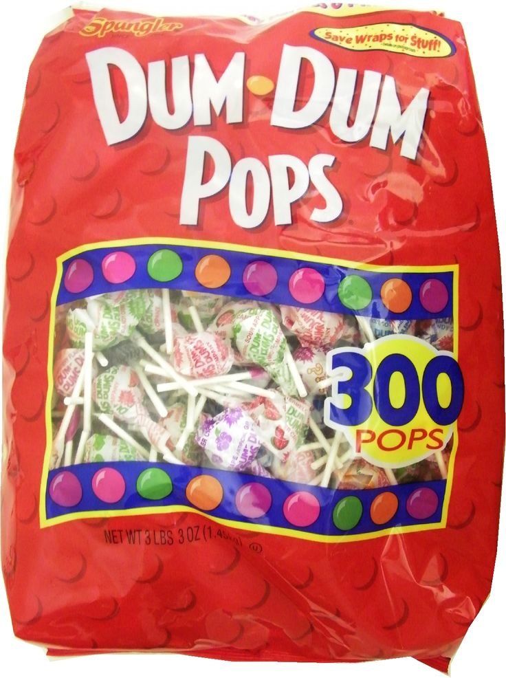 Wrapped Cheap Candy in Bulk: Cheap Bulk Candy | Candy Crate - Dum Dum Pops 300ct..... best suckers ever