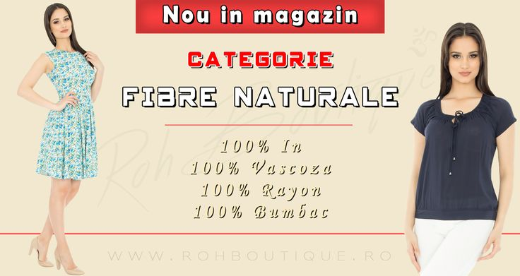 New In Boutique !! Check now !! http://rohboutique.ro/fibre-naturale/