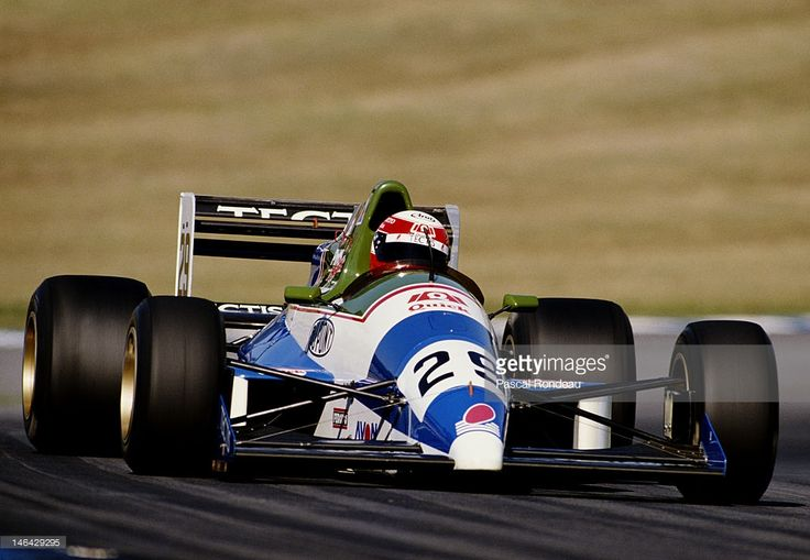Paul Belmondo - Reynard 89D Cosworth DFV / Langford & Peck - CDM Moorsport - Brands Hatch - 1989 FIA Formula 3000 International Championship, round 6 - © GettyImages