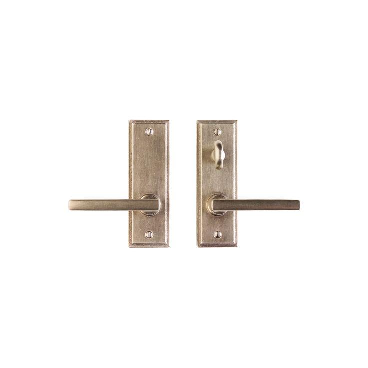 Stepped Screen Door Hardware Patio Mortise Lock E315 | Rocky Mountain Hardware