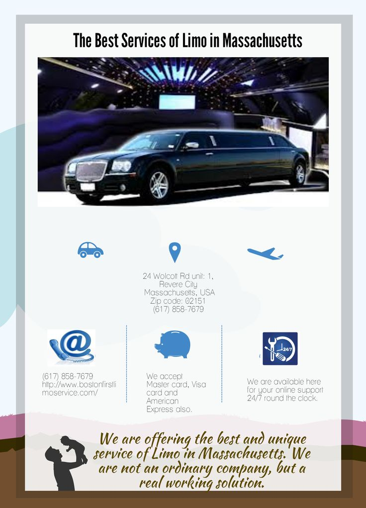 The Best Services of Limo in Massachusetts - Infographic