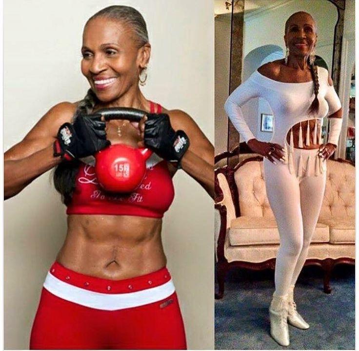 Ernestine Shepherd 80 anni!!!!!!!!  Il suo segreto? Determinazione, stile di vita sano e allenamento.