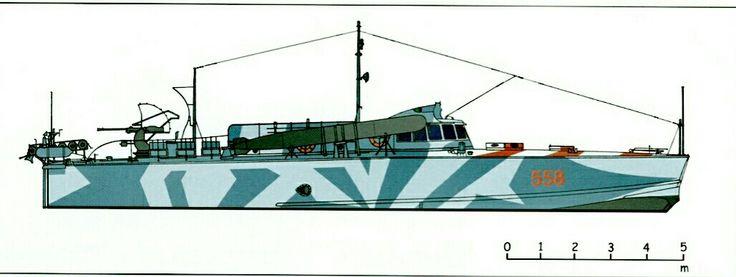 X° Flottiglia, MAS 558, camouflage scheme, Aegean sea 1941 - pin by Paolo Marzioli